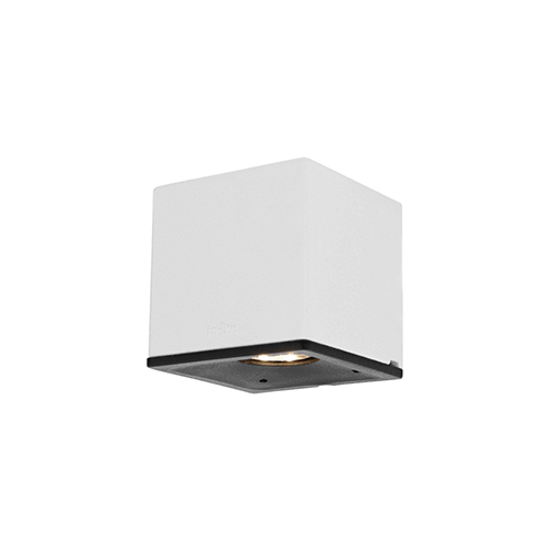 in lite | in lite wandlamp Cubid White wit 12V LED A+